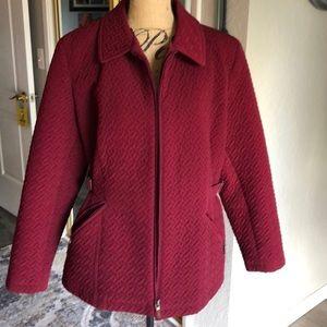 Gallery fleece lined jacket. XL